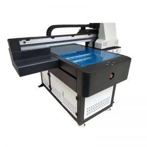 A1 UV prentara stafrænn 6090 flatbed UV prentunarvél með 3D áhrif / Lakk prentun
