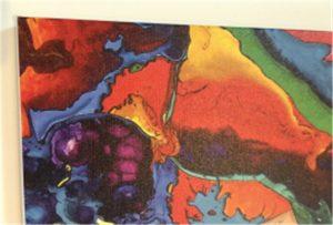 Canvas prentun sýnishorn af WER-E2000UV